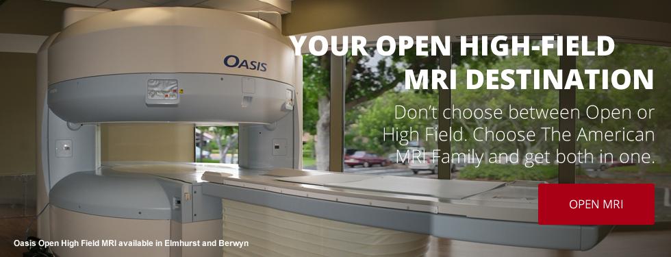 American MRI | Open High-Field MRI | Elmhurst, Illinois